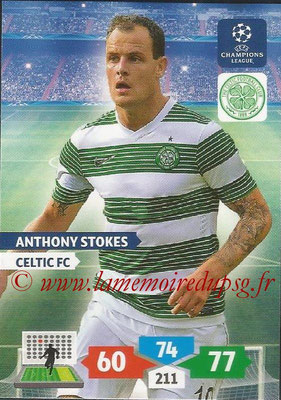 2013-14 - Adrenalyn XL champions League N° 116 - Anthony STOKES (Celtic FC)