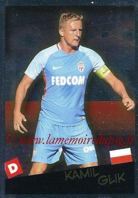 2017-18 - Panini Ligue 1 Stickers - N° 538 - Kamil GLIK (Monaco + Pologne) (Planète Ligue 1)