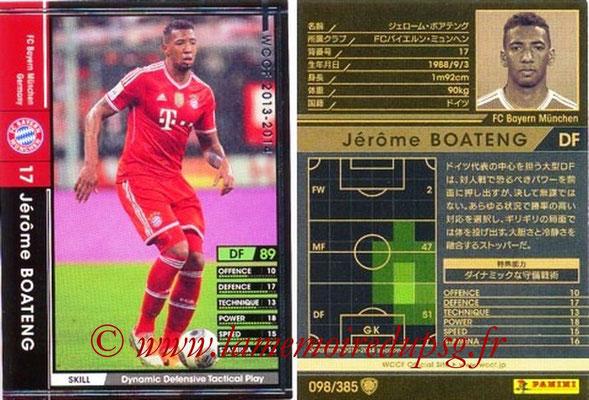 2013-14 - WCCF - N° 098 - Jerôme BOATENG (FC Bayern Munich)