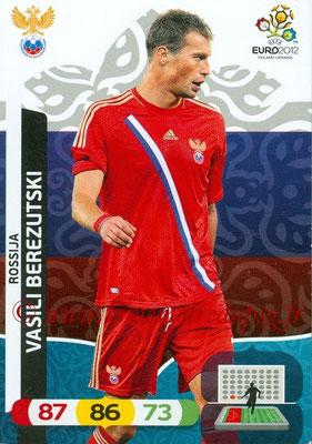Panini Euro 2012 Cards Adrenalyn XL - N° 192 - Vasili BEREZUTSKI (Russie)