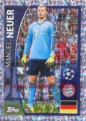 2015-16 - Topps UEFA Champions League Stickers - N° 367 - Manuel NEUER (FC Bayern Munich)