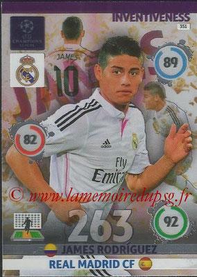 2014-15 - Adrenalyn XL champions League N° 351 - James Rodriguez (Real Madrid CF) (Inventiveness)