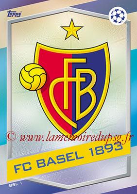 2016-17 - Topps UEFA Champions League Match Attax - N° BSL1 - Logo FC Bale