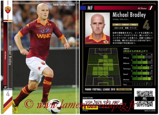 Panini Football League 2013 - PFL01 - N° 039 - Michael Bradley ( AS Roma )