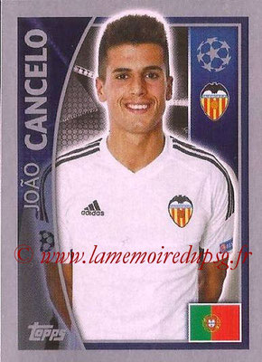 2015-16 - Topps UEFA Champions League Stickers - N° 553 - Joao CANCELO (FC Valence)
