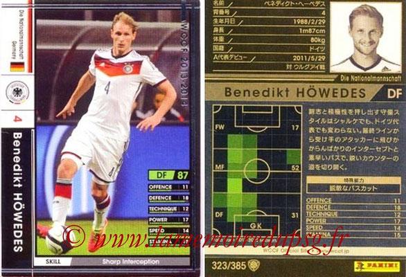 2013-14 - WCCF - N° 323 - Benedikt HOWEDES (Allemagne)