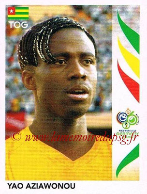 2006 - Panini FIFA World Cup Germany Stickers - N° 521 - Yao AZIAWONOU (Togo)