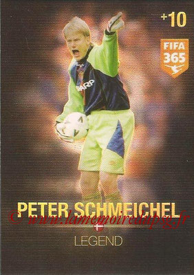 2015-16 - Panini Adrenalyn XL FIFA 365 - N° 371 - Peter SCHMEICHEL (Danemark) (Legend)