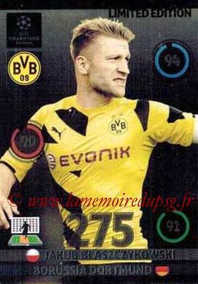 2014-15 - Adrenalyn XL champions League N° LE-JB - Jakub BLASZCZYKOWDKI (Borussia Dortmund) (Limited Edition)