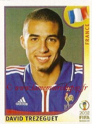 2002 - Panini FIFA World Cup Stickers - N° 040 - David TREZEGUET (France)