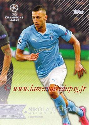 2015-16 - Topps UEFA Champions League Showcase Soccer - N° 027 - Anton TINNERHOLM (Malmö FF)