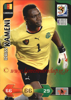 2010 - Panini FIFA World Cup South Africa Adrenalyn XL - N° 053 - Idriss KAMENY (Cameroun)