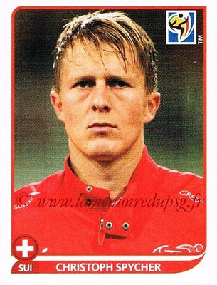 2010 - Panini FIFA World Cup South Africa Stickers - N° 587 - Christoph SPYCHER (Suisse)