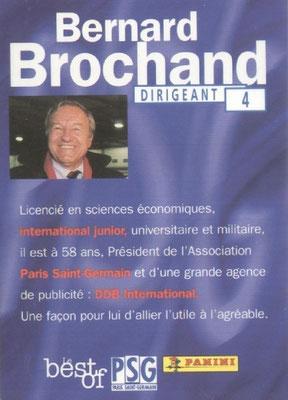 N° 004 - Bernard BROCHAND (Verso)