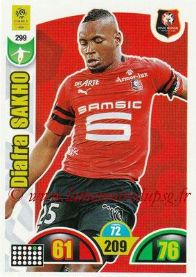 2018-19 - Panini Adrenalyn XL Ligue 1 - N° 299 - Diafra SAKHO (Rennes)