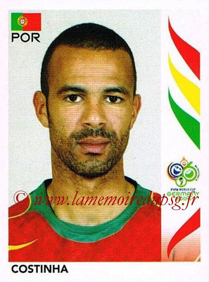 2006 - Panini FIFA World Cup Germany Stickers - N° 291 - COSTINHA (Portugal)
