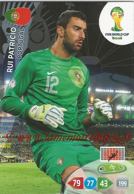 2014 - Panini FIFA World Cup Brazil Adrenalyn XL - N° 269 - Rui PATRICIO (Portugal)