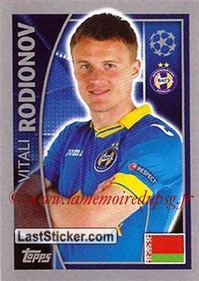 2015-16 - Topps UEFA Champions League Stickers - N° 362 - Vitali RODIONOV (FC Bate Borisov)site