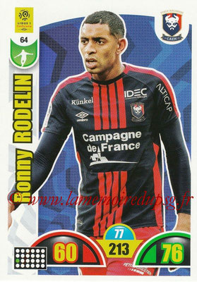 2018-19 - Panini Adrenalyn XL Ligue 1 - N° 064 - Ronny RODELIN (Caen)