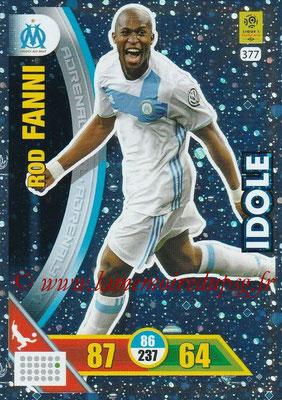 2017-18 - Panini Adrenalyn XL Ligue 1 - N° 377 - Rod FANNI (Marseille) (Idole)