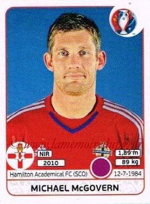 Panini Euro 2016 Stickers - N° 325 - Michael McGOVERN (Irlande du Nord)