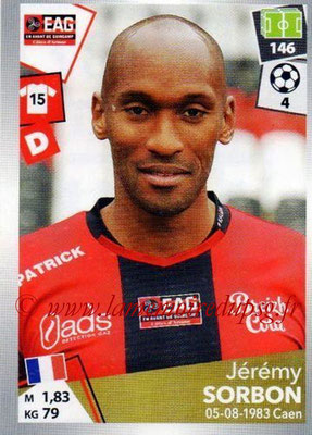 2017-18 - Panini Ligue 1 Stickers - N° 137 - Jérémy SORBON (Guingamp)