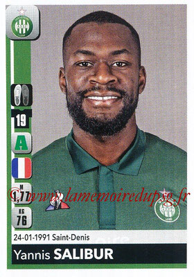 2018-19 - Panini Ligue 1 Stickers - N° 446 - Yannis SALIBUR (Saint-Etienne)
