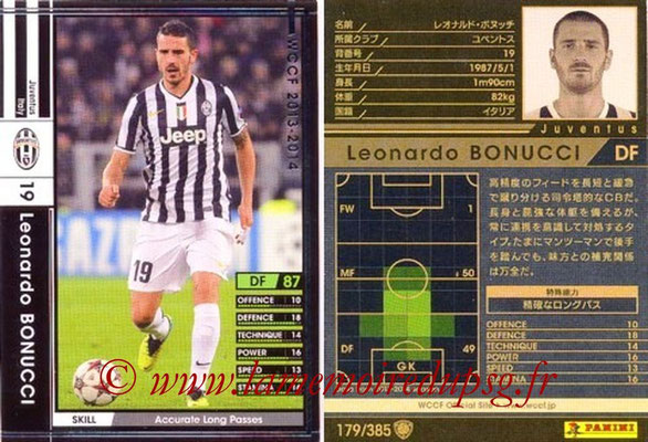 2013-14 - WCCF - N° 179 - Leonardo BONUCCI (Juventus FC)