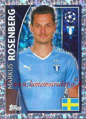 2015-16 - Topps UEFA Champions League Stickers - N° 073 - Markus ROSENBERG (Malmö FF)