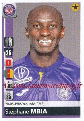 2018-19 - Panini Ligue 1 Stickers - N° 481 - Stéphane MBIA (Toulouse)