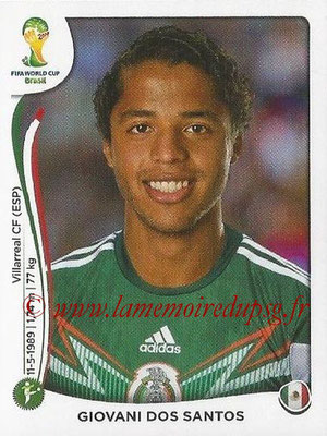 2014 - Panini FIFA World Cup Brazil Stickers - N° 083 - Giovani DOS SANTOS (Mexique)
