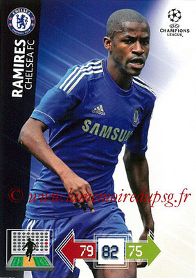 2012-13 - Adrenalyn XL champions League N° 090 - RAMIRES (Chelsea FC)