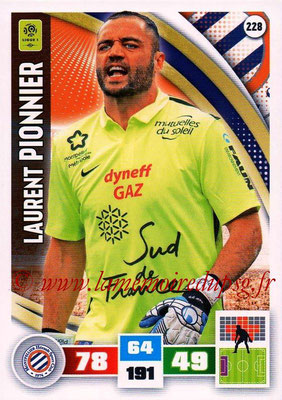 2016-17 - Panini Adrenalyn XL Ligue 1 - N° 228 - Laurent PIONNIER (Montpellier)