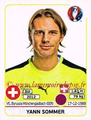 Panini Euro 2016 Stickers - N° 101 - Yann SOMMER (Suisse)