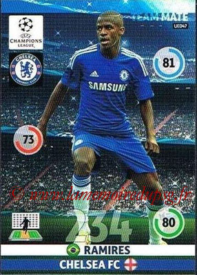 2014-15 - Adrenalyn XL champions League Update edition N° UE047 - RAMIRES (Chelsea FC)
