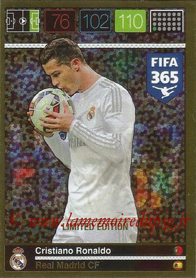 2015-16 - Panini Adrenalyn XL FIFA 365 - N° LE-CR - Cristiano RONALDO (Real Madrid CF) (Limited Edition)