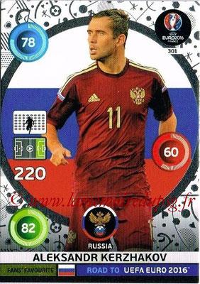 Panini Road to Euro 2016 Cards - N° 301 - Aleksandr KERZHAKOV (Russie) (Fans' Favorite)