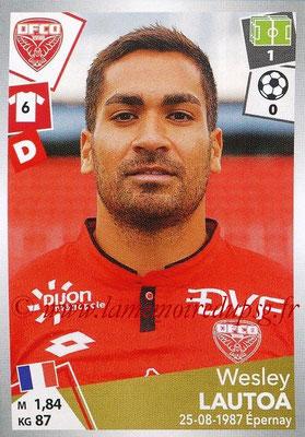 2017-18 - Panini Ligue 1 Stickers - N° 110 - Wesley LAUTOA (Dijon)
