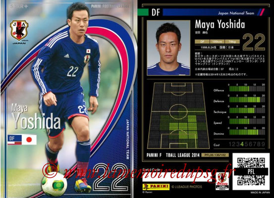 Panini Football League 2014 - PFL06 - N° 136 - Maya YOSHIDA (Japon) (Star +)