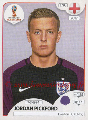 2018 - Panini FIFA World Cup Russia Stickers - N° 575 - Jordan PICKFORD (Angleterre)