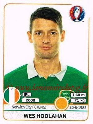 Panini Euro 2016 Stickers - N° 531 - Wes HOOLAHAN (République d'Irlande)