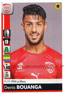2018-19 - Panini Ligue 1 Stickers - N° 341 - Denis BOUANGA (Nîmes)