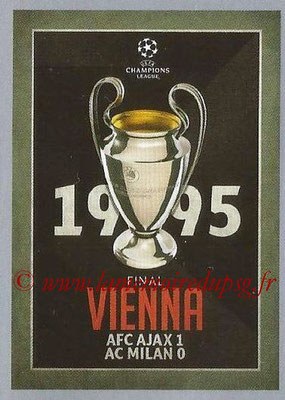 2015-16 - Topps UEFA Champions League Stickers - N° 587 - UEFA Champions League Final 1994-95