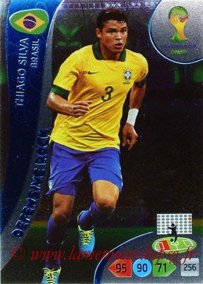 N° 363 - Thiago SILVA (2012-??, PSG > 2014, Brésil) (Defensive rock)
