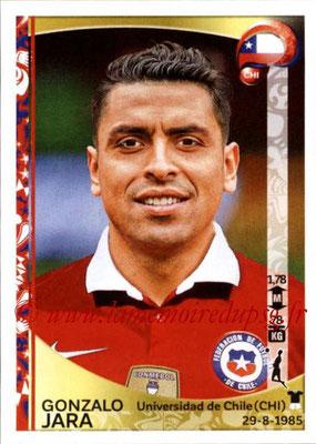 Panini Copa America Centenario USA 2016 Stickers - N° 331 - Gonzalo JARA (Chili)