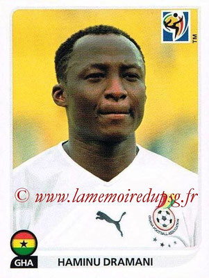 2010 - Panini FIFA World Cup South Africa Stickers - N° 329 - Haminu DRAMANI (Ghana)