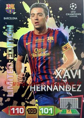 2011-12 - Panini Champions League Cards - N° LE05 - Xavi HERNANDEZ (FC Barcelone) (Limited Editon)