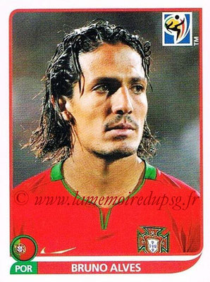 2010 - Panini FIFA World Cup South Africa Stickers - N° 547 - Bruno ALVES (Portugal)