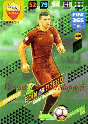 2017-18 - Panini FIFA 365 Cards - N° 440 - Edin DZEKO (AS Roma) (Game Changer)