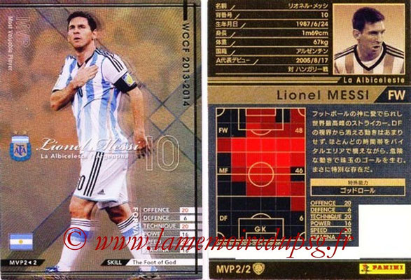 2013-14 - WCCF - N° MVP2 - Lionel MESSI (FC Barcelone) (Most Valable Player)
